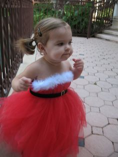 SALE. Santa Baby TuTu Dress. As seen on the Real Housewives of New Jersey.. $89.99, via Etsy.