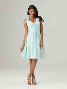 Robin Egg Blue Bridesmaid Dresses