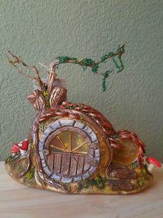 Mira este artículo en mi tienda de Etsy: https://www.etsy.com/es/listing/581085500/fairy-house-faerie-maison