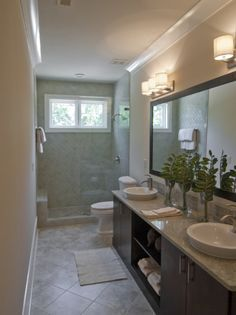 narrow bathroom remodeling ideas - Google Search