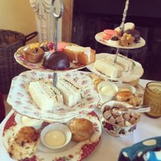 ce1c24303fb Afternoon Tea at The Oakley Court Hotel