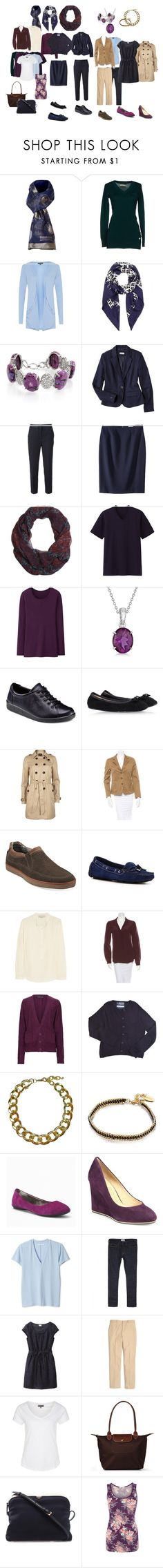 Navy and Plum for Fall by arielibra on Polyvore featuring мода, Diane Von Furstenberg, Zalando, Oasis, STELLA McCARTNEY, Sugarhill Boutique, Uniqlo, MTWTFSS Collection, Timeout and Vila Milano