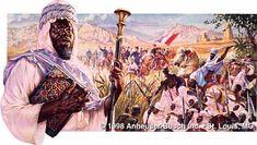 Grandes reis e rainhas de Africa - SAMORY TOURE - Rei do Sudao  - (1830-1900)