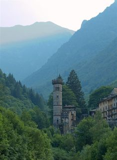 The tower of the castle of Rosazza (Biella, Italy) Piemonte