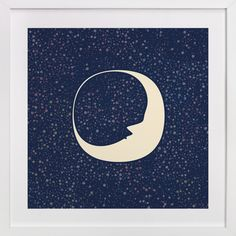 Moon Magic Art Print - Celestial Moon by Katherine Morgan at minted.com