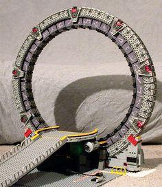 LEGO Stargate - http://www.gearfuse.com/lego-stargate/