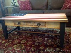 Betsy Ross Coffee Table SOLD by DeniseMarieSaylor on Etsy