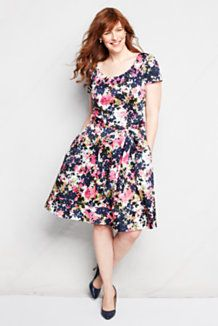 Women's Plus Size Dresses from Lands' End