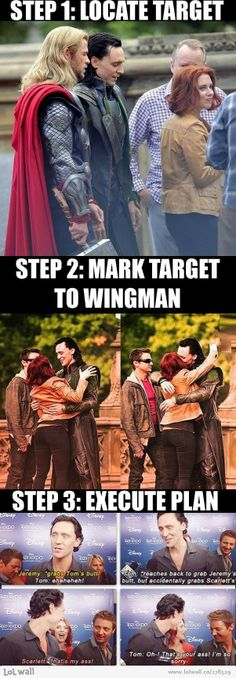 Loki, God of Mischief. Oh Loki you make me laugh Marvel Jokes, Funny Marvel Memes, Dc Memes, Avengers Memes, Marvel Dc Comics, Funny Memes, It's Funny, Loki Funny, Funny Tom