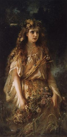 Konstantin Makovsky, Ophelia, 1884