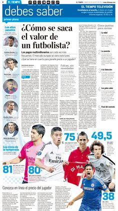 Fichajes más costosos del Fútbol on Behance