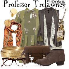 """Professor Trelawney"" by lalakay on Polyvore #harrypotter"