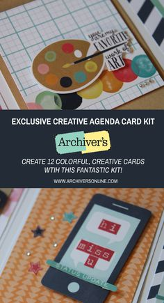 Make 12 fantastic cards with this kit you'll only find at Archiver's while supplies last!