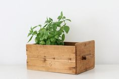 Vintage wood drawer box container by KeepitRetro on Etsy, £16.00