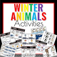 Winter Animal Learning Activities