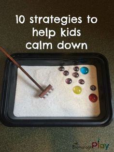 10 strategies to help kids calm down from Encourage Play
