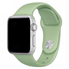 Silicone Sport Band For Apple Watch 4 correa aple watch Wrist Bracelet Apple Watch Fashion, New Apple Watch, Apple Watch 42mm, Apple Watch Series 2, Apple Watch Bands, Apple Watch Silicone Band, Smart Watch Apple, Sport Armband, Accessoires Iphone