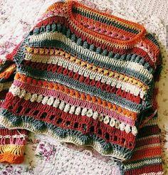 hippie style 774196992172161018 - Görüntünün olası içeriği: çizgiler Source by zmrttas Pull Crochet, Mode Crochet, Crochet Baby, Knit Crochet, Hippie Crochet, Crotchet, Crochet Jumpers, Crochet Mandala, Crochet Motif