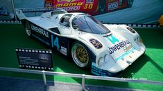 1985 Porsche 962 Lowenbrau Race Car at Rolex Monterey Motorsports Reunion 2017. Video in 360 view: http://www.specialcarstore.com/content/rolex-monterey-motorsports-reunion-2017-chance-taken