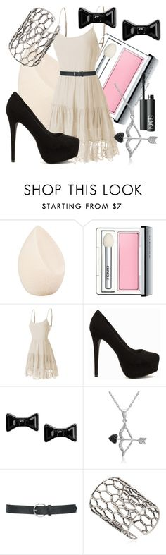 """""""A date with him"""" by sarahwuzhere on Polyvore featuring Christian Dior, Clinique, LE3NO, Nly Shoes, Marc by Marc Jacobs, Amanda Rose Collection, M&Co, Giuseppe Zanotti, NARS Cosmetics and women's clothing"""