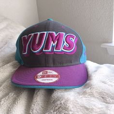 ef624369a73 9Fifty New Era YUMS Snapback Cap - Purple   Blue  fashion  clothing  shoes   accessories  mensaccessories  hats (ebay link)