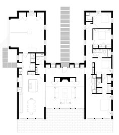 Dream House v. 2.0 updated and modified four (4) bedroom plan showing the extended kitchen and dining room configuration that opens up…