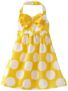 Amazon.com: Carters Toddler Girls Polka Dot Print Sundress with Bow: Clothing