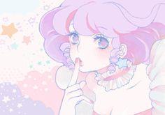 Anime pastels