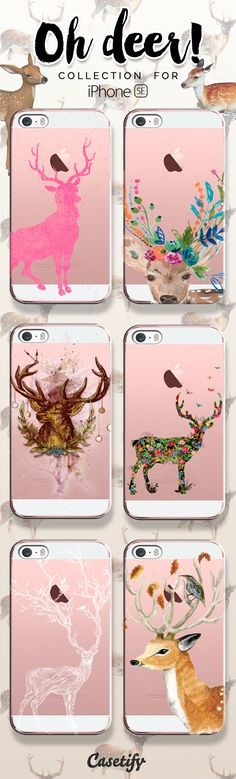 Oh deer! Take a look at these cases featuring deers on our site now! https://www.casetify.com/artworks/VDKia1doTL | @casetify