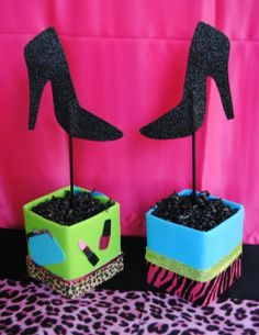 Hey, I found this really awesome Etsy listing at https://www.etsy.com/listing/176080451/glamour-girl-2-centerpieces-girls-diva