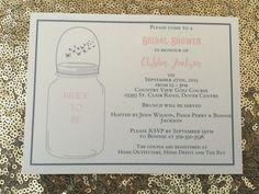Bridal shower invitations | The Paper Bride | www.thepaperbride.ca | #weddingstationery #bridalshower #thepaperbride Bridal Shower Invitations, Wedding Stationery, Rsvp, Personalized Items, Bride, Paper, Wedding Bride, Bachelorette Invitations, Bridal