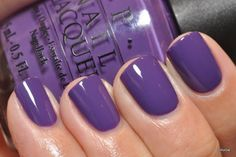 Love the colour on this!! OPI Funky Dunkey Nail Polish