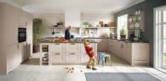 Kitchens are made to bring families together...