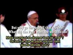 Pape Francois 1er glorifie Lucifer lors des béatifications des papes - YouTube