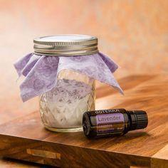 Lavendel Raumduft mit Natron selber machen