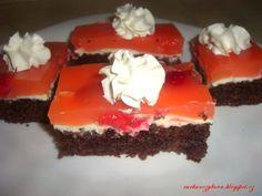 Vzpomínka na starý dobrý vitacit,dnes by spíš seděl název Tangové… Russian Recipes, Cheesecake, Cooking Recipes, Pudding, Sweet, Food, Polish, Bakken, Candy