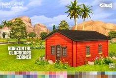 """ohmysims404:  """"EAxian made this revolutionary thing called corner walls. They automatically fill corners with proper corner textures (oh……) but smart enough not to do that on inside walls. Moreover, unlike separated corner wallpapers, these combined..."""