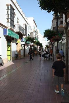 Rota, Spain! I loved the little shops!