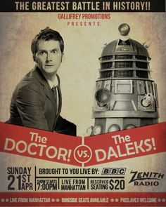 The Doctor vs. The Daleks Poster