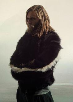 """Sruli Recht Spring/Summer 2013 """"Circumsolar"""" Supermassive (Skunk fur bomber jacket)"""