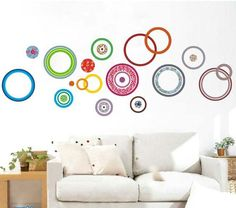 kitchen wall decorating ideas colorful diy circle round home decal wall sticker sofa tv living room bedroom decoration shop store office decor mural 47 best removable stickers images removable