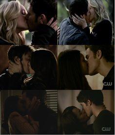 Image de kiss, Vampire Diaries, and love
