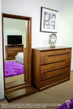 Master Bedroom Interior, Bedroom Furniture Design, Home Decor Bedroom, Home Room Design, Home Interior Design, House Design, Platform Bed Designs, Wood Bedroom Sets, White Room Decor