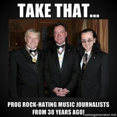 Rush Says: Take That Prog Rock Hating Music Journalists From 38 Years Ago. Rush is a Canadian rock band formed in August 1968, in the Willow...