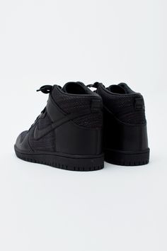 Black Hightop Nikes