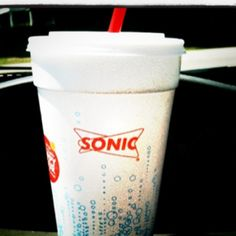 Sonic  ((Ocean Water drink is my favorite; their ice is always great; and 1/2 price drinks are great with a lot of kids to feed.  S.))