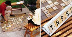 garden wedding reception ideas | ... idea of all? This outdoor scrabble idea from Sunset Magazine is just