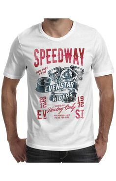 T-shirt EvenStar col Rond modèle Seedway