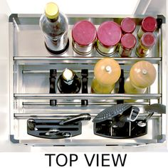 ELITE Kitchen Pull-Out Cupboard Organiser - To suit a 400mm cupboard