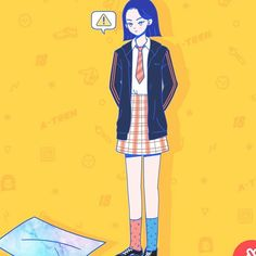 Web Drama, Drama Film, Korean Art, Korean Drama, Teen Web, Teen Series, Teen Wallpaper, Art Story, Drama Korea